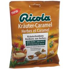 Ricola herbal caramel without sugar with stevia battalion 125 g