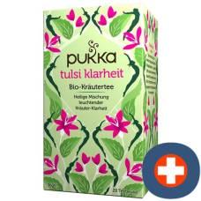 Pukka clarity tulsi tea organic btl 20 pcs