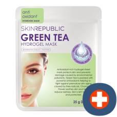Skin republic green tea hydrogel face mask sheet 25 g