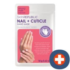 Skin republic nail + cuticle hand mask 18 g