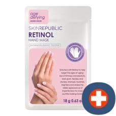 Skin republic retinol age-defying hand mask 18 g