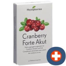 Phytopharma cranberry forte acute tablets 30 pcs