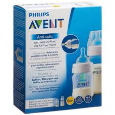 Avent philips anti-colic bottle with airfree valve 125 + 260ml