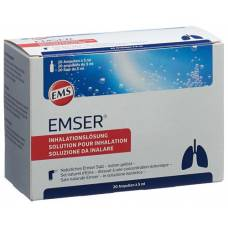 Emser inhalation solution 20 amp 5 ml
