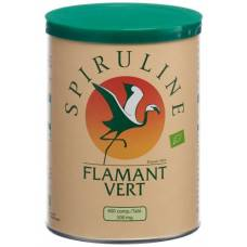 Spirulina flamant vert bio tablets 500 mg ds 400 pcs