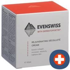 Evenswiss rejuvenating cleavage cream 50 ml