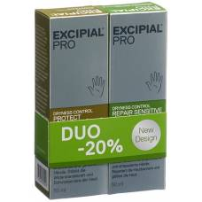 Excipial pro dryness control protect / repair sensitive hand cream duo 2 x 50 ml