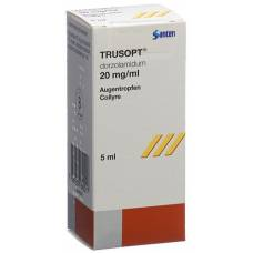 Trusopt gd opht 2% fl 5 ml