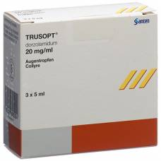 Trusopt gd opht 2% 3 fl 5 ml