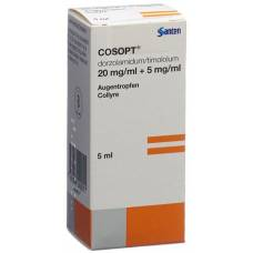 Cosopt gd opht sterile fl 5 ml