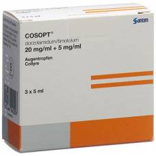 Cosopt gd opht sterile 3 fl 5 ml