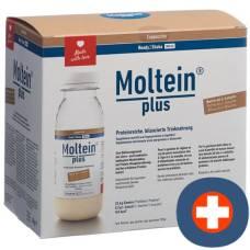 Moltein plus ready2shake cappuccino 6 fl 38 g
