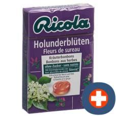 Ricola elderflower candies without sugar with stevia box 50 g