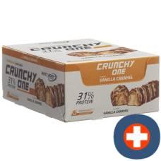 Best body crunchy one bar vanilla caramel 15 x 51 g