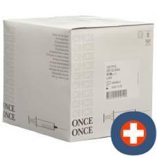 Once disposable syringe 10ml luer 100 pcs