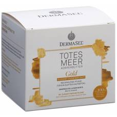 Dermasel body buttergold german french ds 200 ml