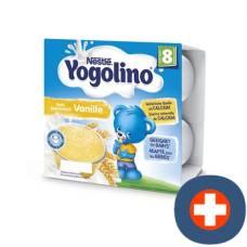 100 nestlé yogolino taste vanilla 8 months 4 x g