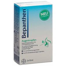 Bepanthen eye drops 2 fl 10 ml