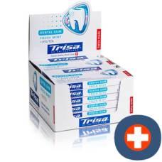 Trisa dental gum fresh mint duo 6 pieces