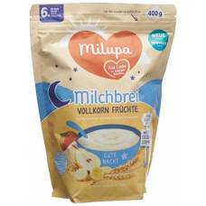 Milupa goodnight whole grains fruits 6m + 400 g