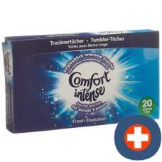 Comfort tumbler handkerchief blue 20 pcs
