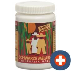 Mineralia gold black caps molasses ds 90 pcs