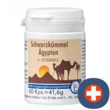 Canea pharma black cumin egypt + vitamin e cape ds 60 pcs