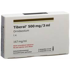 Tiberal inf konz 500 mg / 3 ml of 5 amp 3 ml