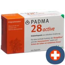 Padma 28 active kaps 100 pcs