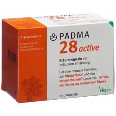 Padma 28 active kaps 200 pcs