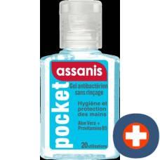 Assanis gel antibacterial fl 60 ml