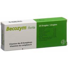 Becozym forte drag 20 pc