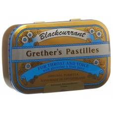 Grethers blackcurrant lozenges ds 110 g