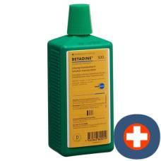Betadine solution standardized lös fl 500 ml