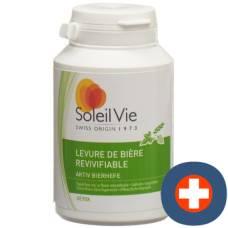 Soleil vie active brewer's yeast kaps 400 mg 75 pcs