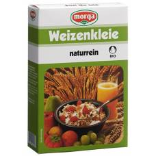 Morga bio wheat bran naturrein bud 250 g