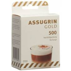 Assugrin gold tablets refill 500 pcs