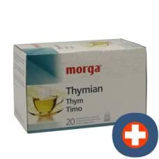 Morga thyme tea btl 20 pcs