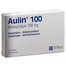 Aulin tbl 100 mg 30 pcs