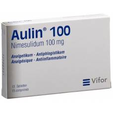 Aulin tbl 100 mg of 15 pcs