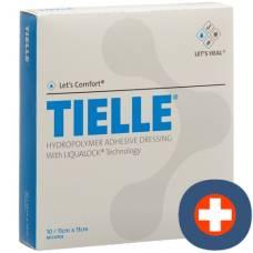 TIELLE CLASSIC Hydropolymer Verb 11x11cm 10 Btl
