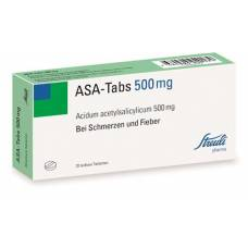 Asa tablets tbl 0.5 g of 20 pcs