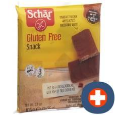 Schär snack m gluten-free chocolate 3 x 35 g