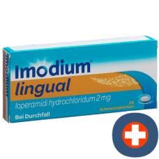 Imodium lingual schmelztabl 2 mg 20 pcs