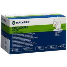 Halyard mask nurses yellow type ii 50 pcs