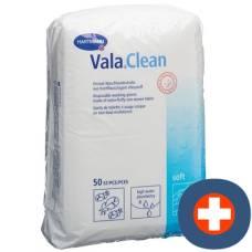 Valaclean soft disposable wash mitt 15.5x22.5cm 50 pcs