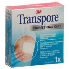 3m adhesive plaster transpore® 5mx12.5mm refill
