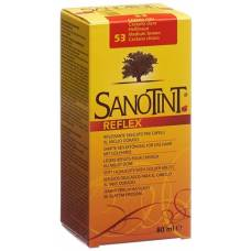 Sanotint reflex Haartönung 53 light brown