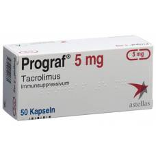 Prograf kaps 5 mg 50 pcs