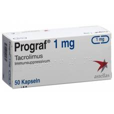 Prograf kaps 1 mg 50 pcs